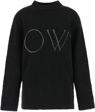 Off-White Logo Oversize Sweater