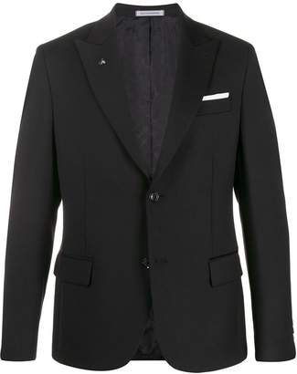 Daniele Alessandrini fitted tailored blazer