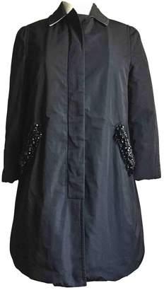 N°21 N21 Black Cotton Coat for Women