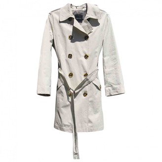 Max Mara Weekend Beige Cotton Trench Coat for Women