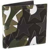 Valentino Camo Coin Purse Billfold Wallet