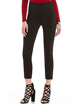 Stoosh High Waist Woven Stretch Ankle Leggings
