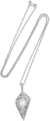 Alexis Bittar Silver-tone Crystal Necklace
