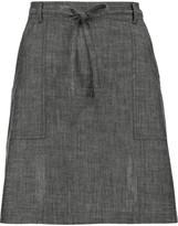 MiH Jeans Nanterre chambray mini skirt