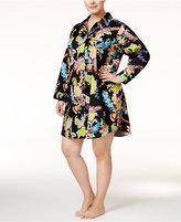 Lauren Ralph Lauren Plus Size Sateen Boyfriend Sleepshirt