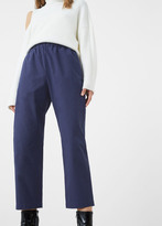 MANGO Cotton Crop Trousers