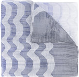 Armani Collezioni patterned scarf