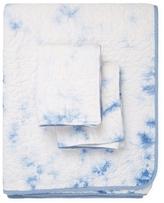 Melange Home Cloud Tie-Dye Cotton Quilt Set