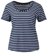 Denham Jeans ROUTE Print Tshirt indigo