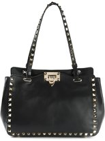 Valentino 'Rockstud' tote - women - Calf Leather/Metal (Other) - One Size
