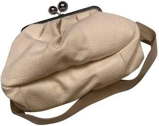 Max Mara Weekend White Cotton Handbags