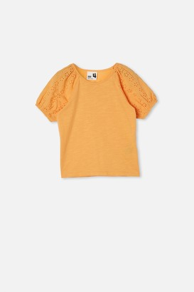 Cotton On Isabella Puff Sleeve Top