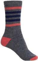 Smartwool Striped Hike Medium Socks - Merino Wool, Crew (For Women)