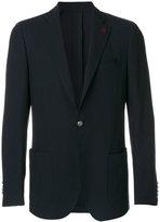 Lardini patch pockets notched blazer