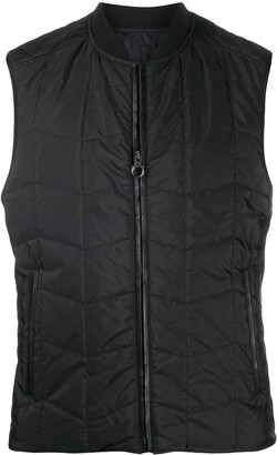Salvatore Ferragamo Quilted Zip-Up Gilet