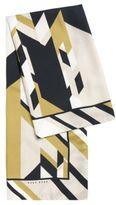 HUGO BOSS Lisana Silk Print Large Square Scarf One Size Patterned