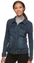 Gloria Vanderbilt Women's Faux-Denim Jacket