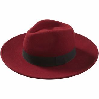 Tickled Pink Women's Hilary Wool Panama Hat