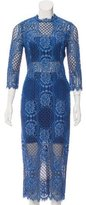 Alexis Miller Guipure Lace Dress w/ Tags