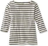 L.L. Bean French Sailor's Shirt, Three-Quarter-Sleeve Boatneck