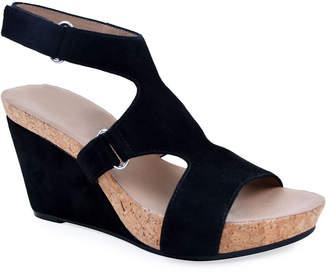 Bettye Muller Concept Tobias Suede Wedge Sandals