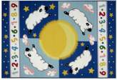 Fun Rugs Olive Kids Sleepy Sheep Rug - 19'' x 29''