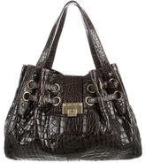 Jimmy Choo Embossed Leather Ramona Bag