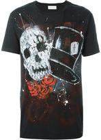 Faith Connexion skull graffiti print T-shirt