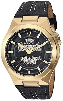 Bulova Maquina - 97A148 (Black) Watches