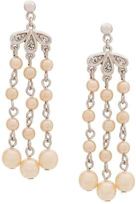 Susan Caplan Vintage 1980`s chandelier earrings