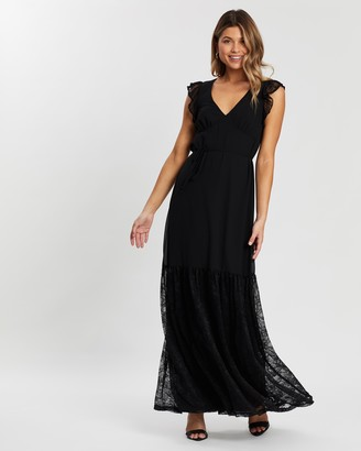 Atmos & Here Brooklyn Lace Insert Maxi Dress
