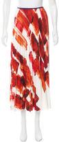 Celine Silk Printed Skirt