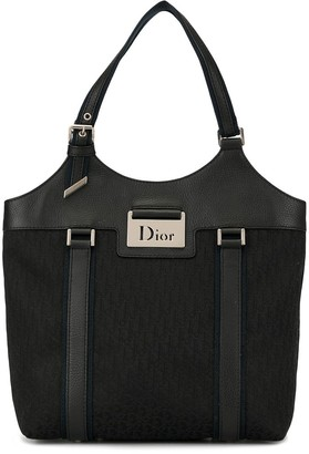 Christian Dior Pre-Owned Street Chic Trotter pattern tote