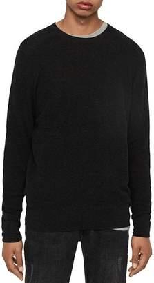 AllSaints Eben Cotton & Cashmere Crewneck Sweater