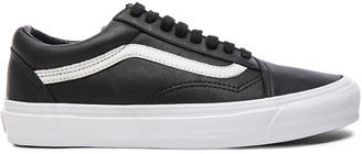 Vans OG Leather Old Skool LX in Black | FWRD