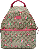 Gucci Kids Children's GG rose bud backpack