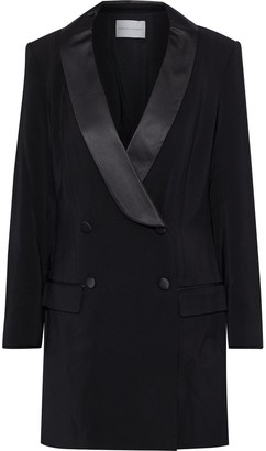 Rebecca Minkoff Archie Tuxedo Dress - Black / 8