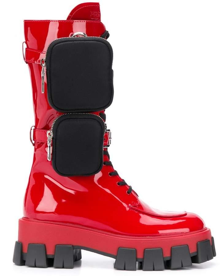 979d9ede3a9 ridged sole pocket boots