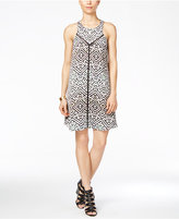 Rachel Roy Sleeveless Geo Trapeze Dress