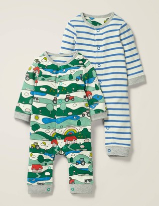 Twin Pack Rompers