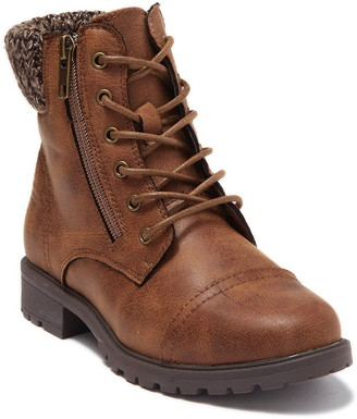 Steve Madden Ibanna Lace-Up Boot