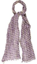 Etro Linen & Wool Scarf