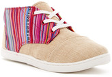 Toms Geo Textile Burlap Paseo-Mid Shoe (Little Kid & Big Kid)