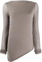 Rick Owens Lilies fine knit T-shirt