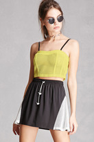 Forever 21 FOREVER 21+ ing2ing Netted Bustier Top