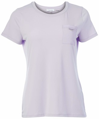 Calvin Klein Women's Short Sleeve Tee with Pocket