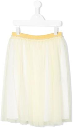 Il Gufo TEEN pleated tulle skirt