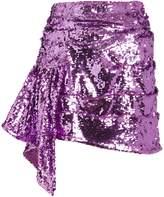 For Love & Lemons Madeleine Sequin Mini Skirt