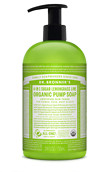 Dr. Bronner's 4-In-1 Sugar Organic Pump Soap 710ml
