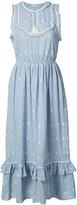 Ulla Johnson tassel detail midi dress - women - Cotton - 2